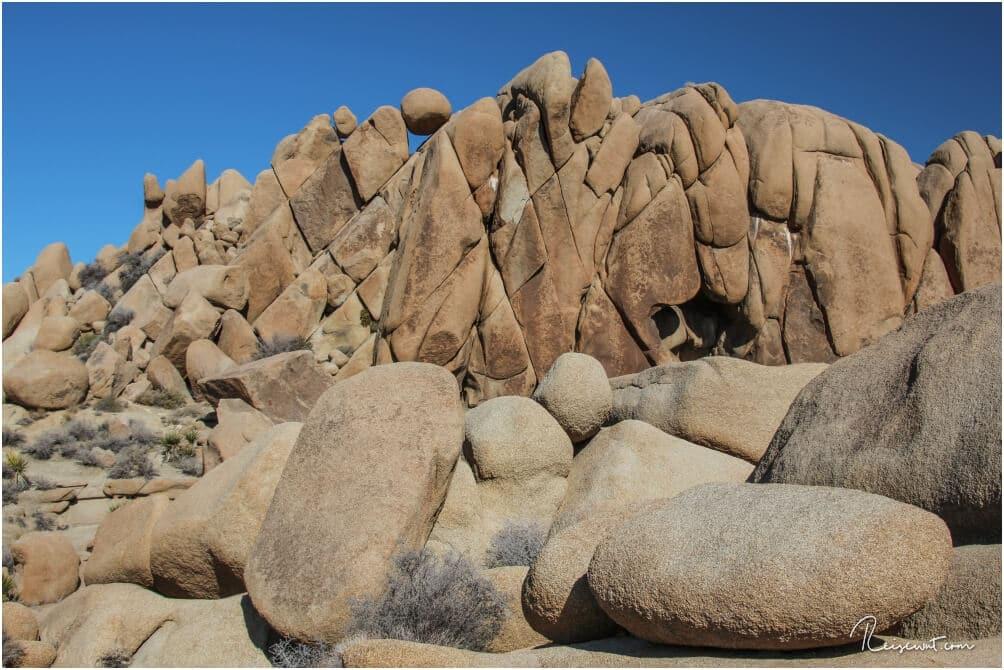 Die Big Boulders sind vom Campground kaum zu verfehlen
