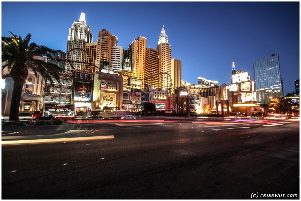 Zur Blue Hour ist Las Vegas einfach ein fotografischer Hochgenuss