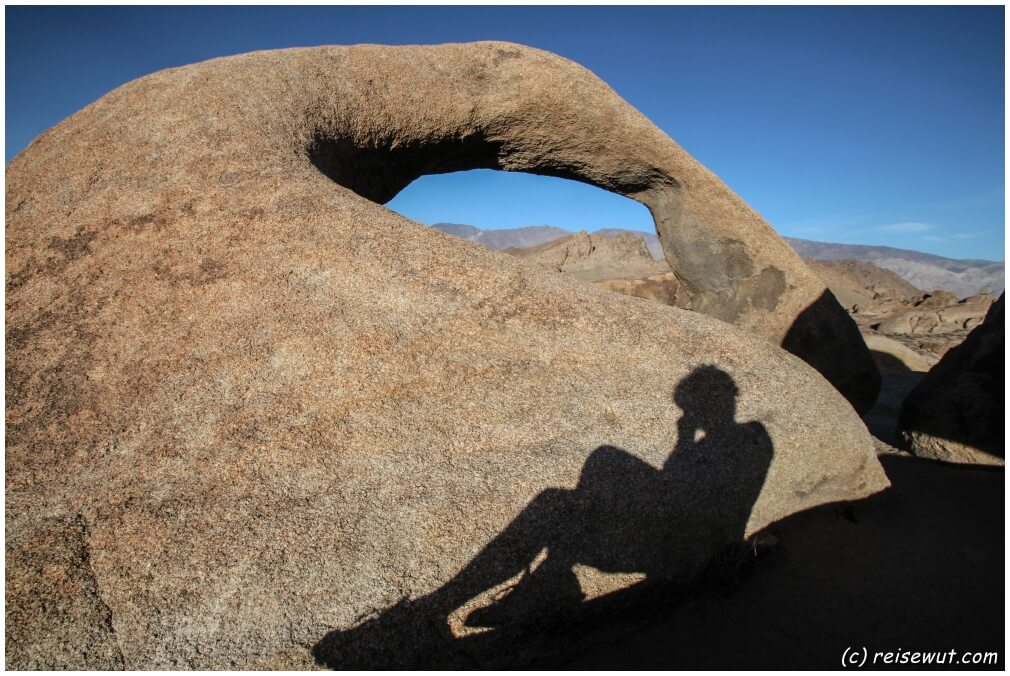 Moebius Arch am Nachmittag