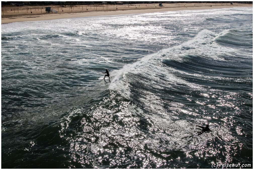 Surferin am Manhattan Beach