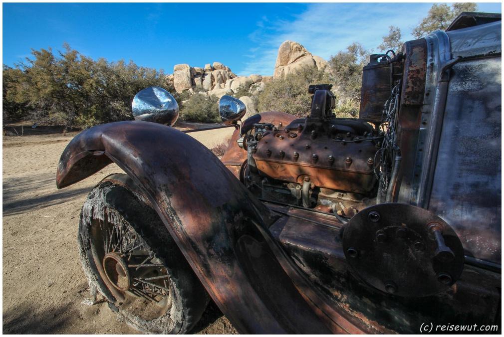"""Und noch eine fotogene """"Old Car"""""""