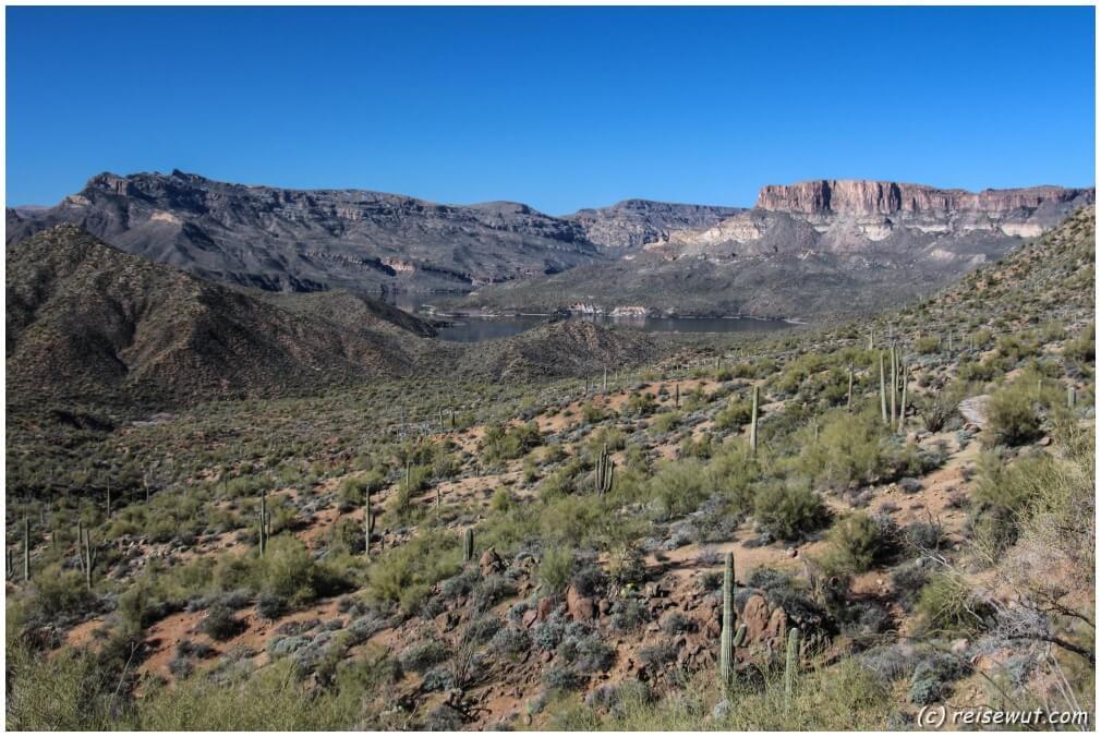 Traumstraßen dieser Welt, der Apache Trail ist eine davon!