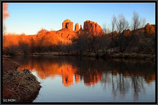 Red Rock Crossing Sunset ... einfach nur WOW !!
