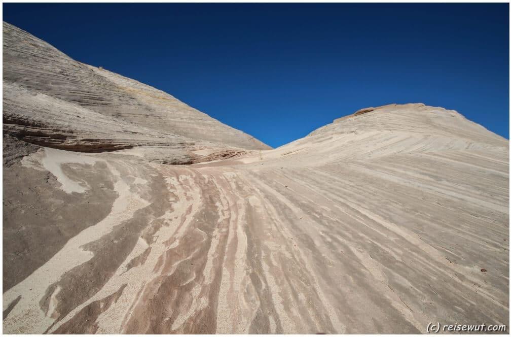 Formationen, wie sie ähnlich den White Domes sind