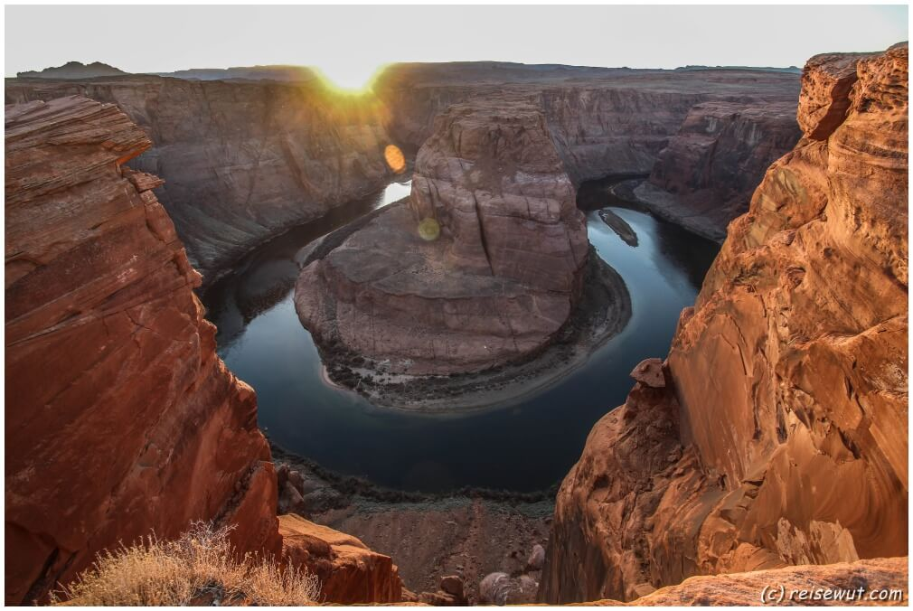 Horseshoe Bend zum Sunset
