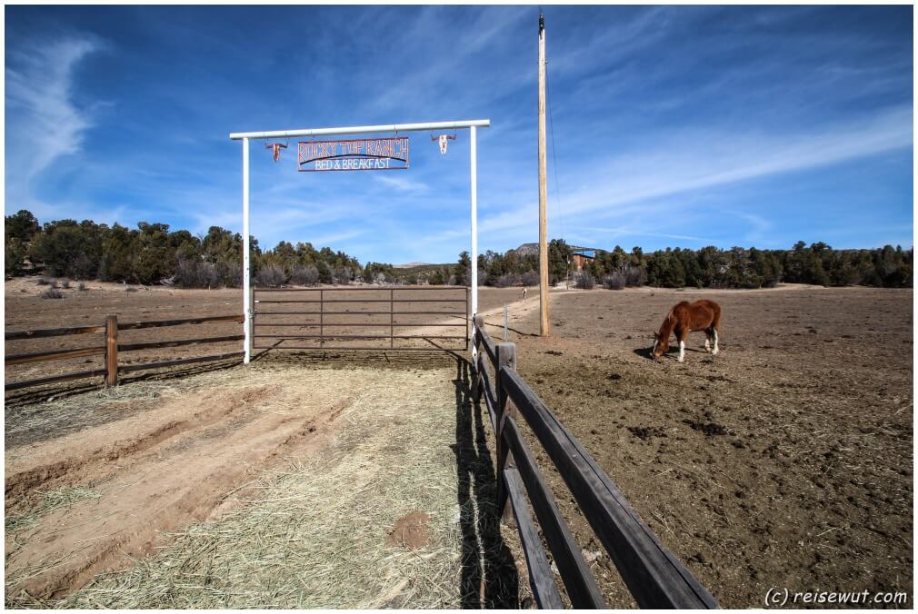 Ranch am Wegesrand