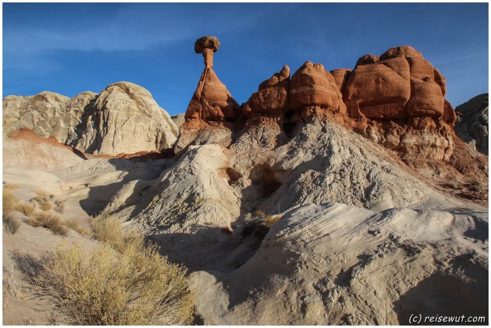 Toadstool Hoodoos – Red Cliffs – Snow Canyon
