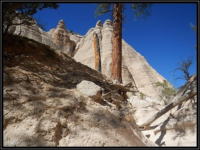 Eindrücke vom Trail durch die Tent Rocks