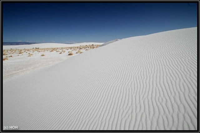 White Sands Impression