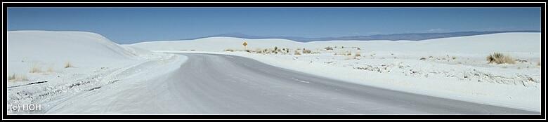 Der Loop durch White Sands
