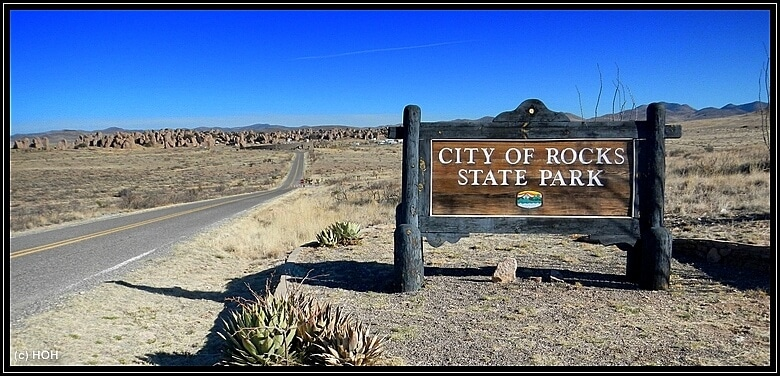 City of Rocks Sign