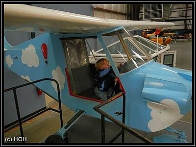 Und wenn ich mal groß bin werde ich Pilot!