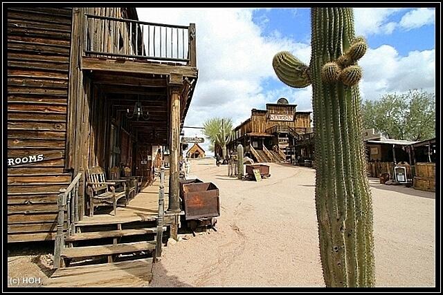 Goldfield am Apache Trail