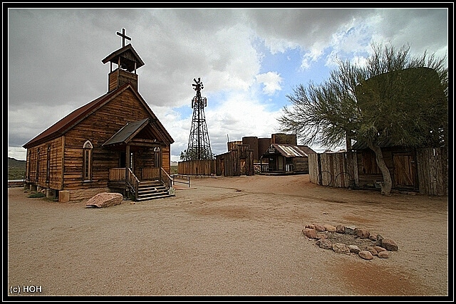 Goldfield Church