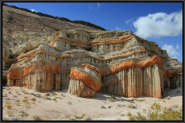 Bizarre Formationen im Red Rocks State Park