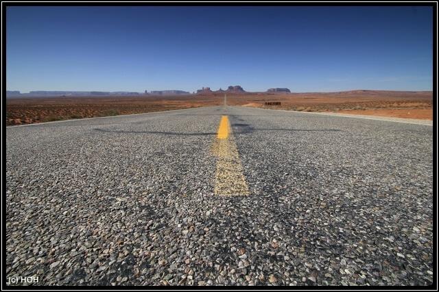US163 ... eine DER Scenic Routes im Südwesten
