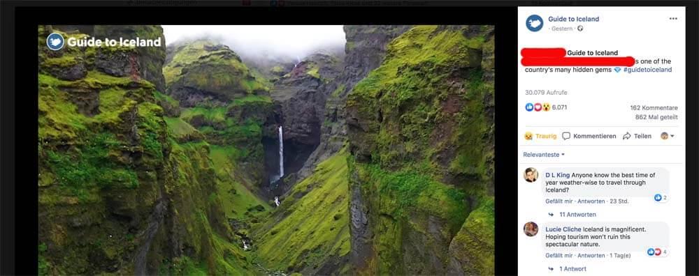 ALLE haben bisher geschwiegen, wie der Name des Canyons heißt, dann kommt Guide to Iceland daher und posaunt den Namen heraus.