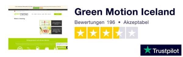 Bewertungen Green Motion Trustpilot