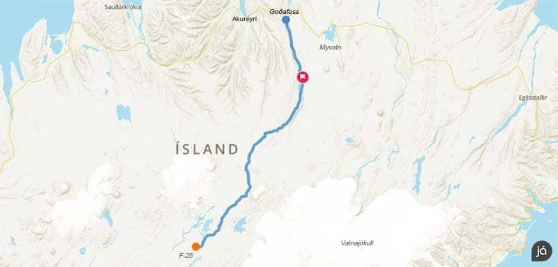 Die Sprengisandur Route durchs isländische Hochland