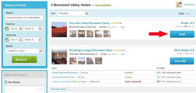 Hotels buchen