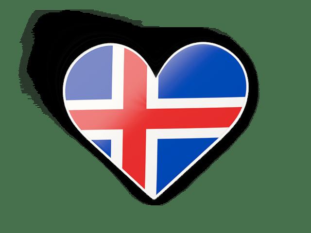 Iceland Heart