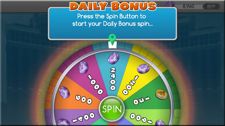 Daily Spin am Smartphone