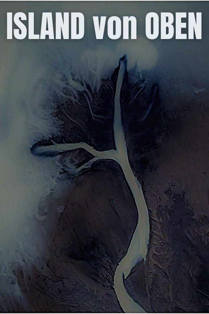 Island von Oben | Pinterest Pin