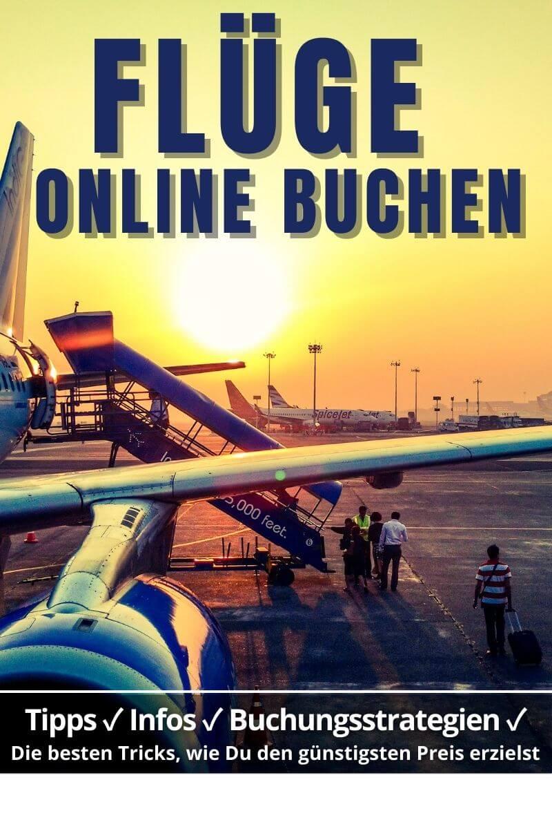 Online Flüge buchen Online | Pinterest Pin