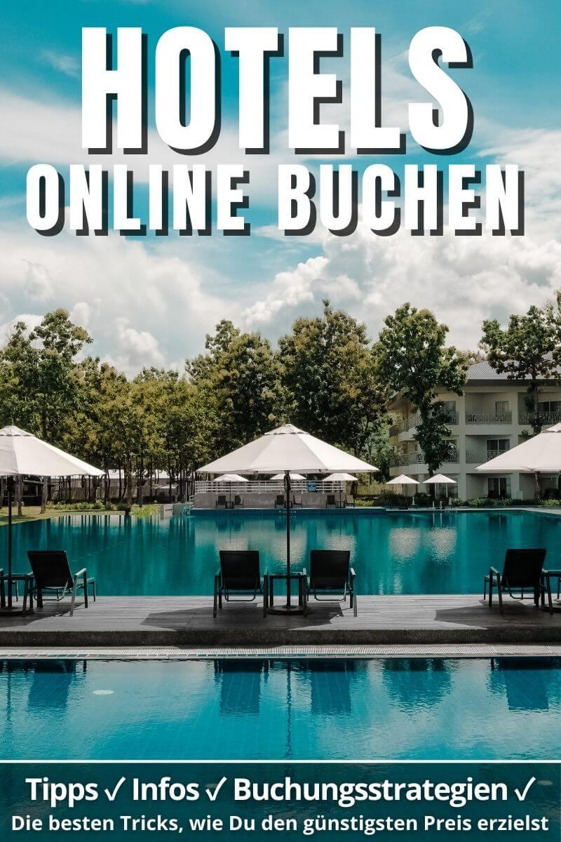 Online Hotels buchen | PINTEREST Pin