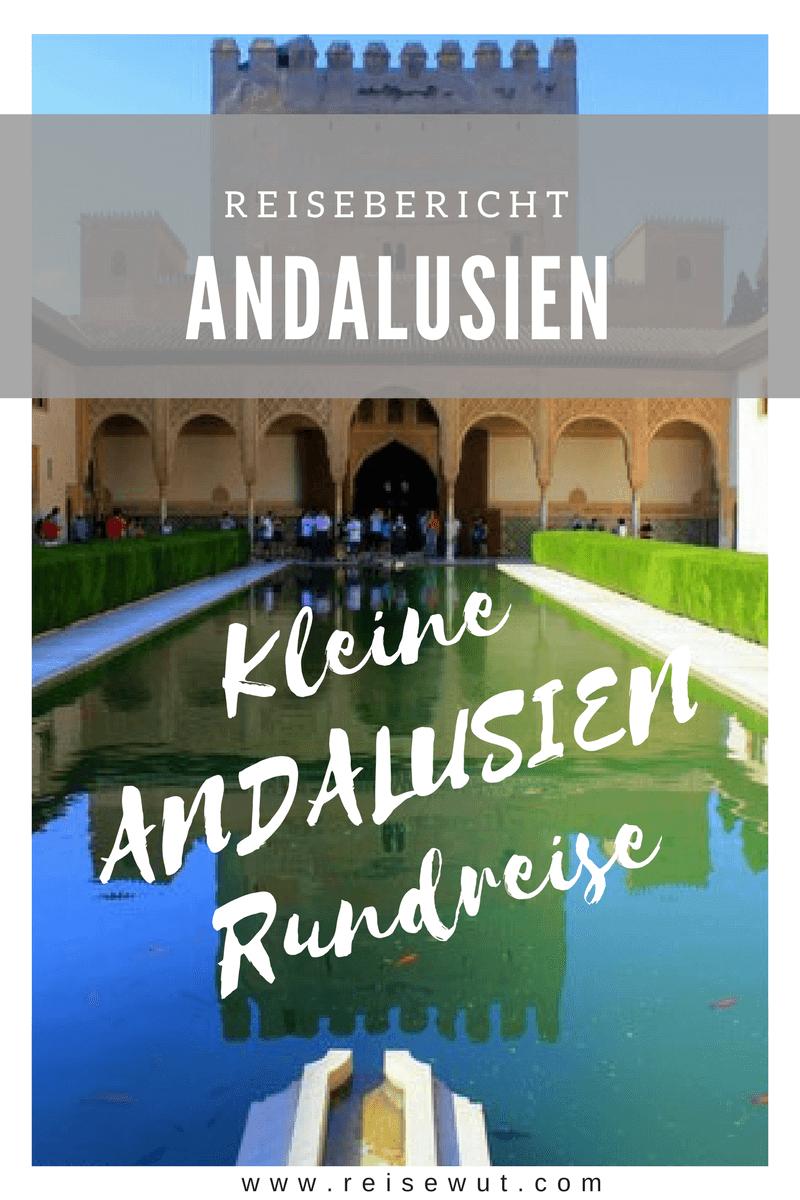 Pinterest Pin - Andalusien Rundreise