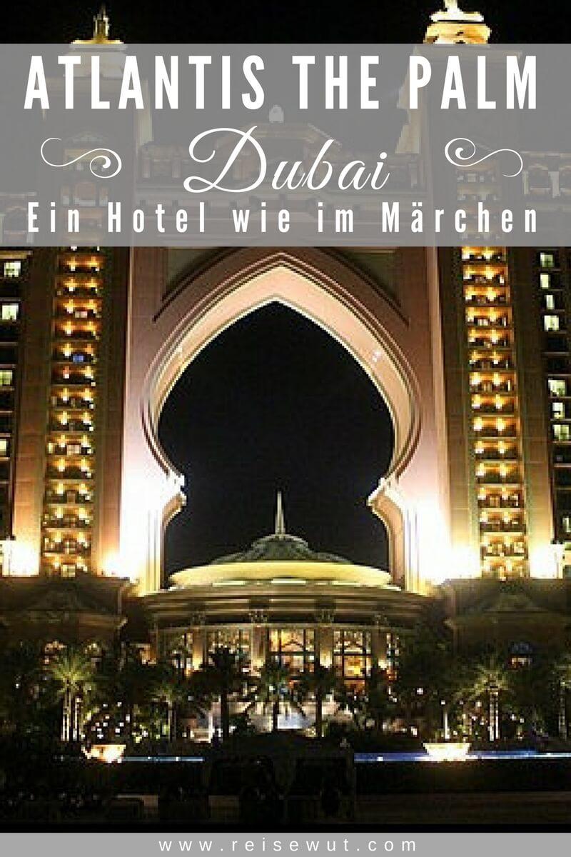 Atlantis Dubai The Palm | Pinterest Pin
