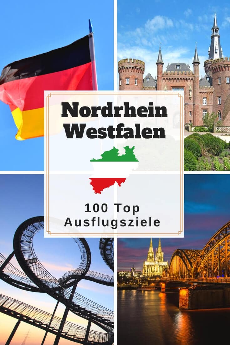 Ausflugsziele und Sehenswürdigkeiten in NRW | Pinterest