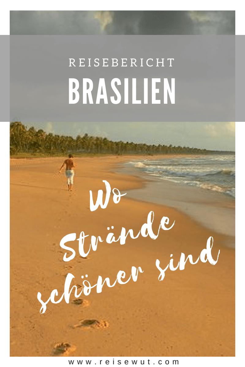 Reisebericht Brasilien Urlaub | Pinterest Pin