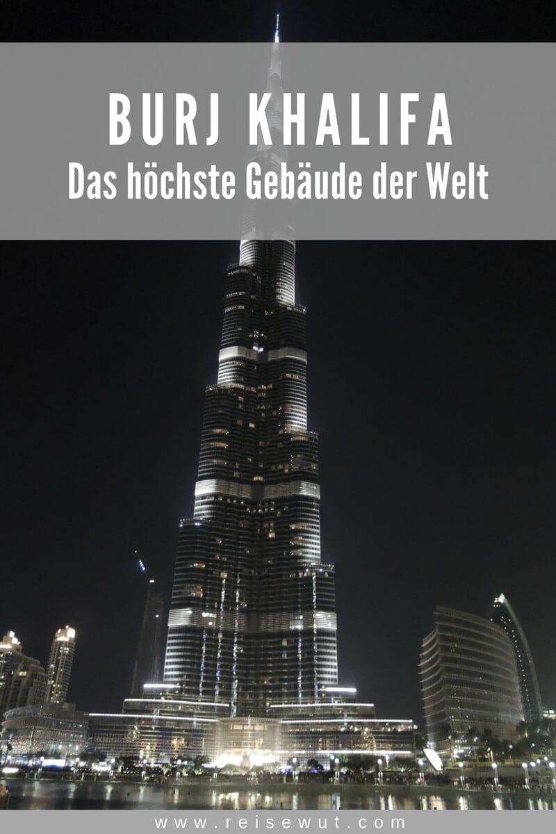 Pinterest Pin - Burj Khalifa