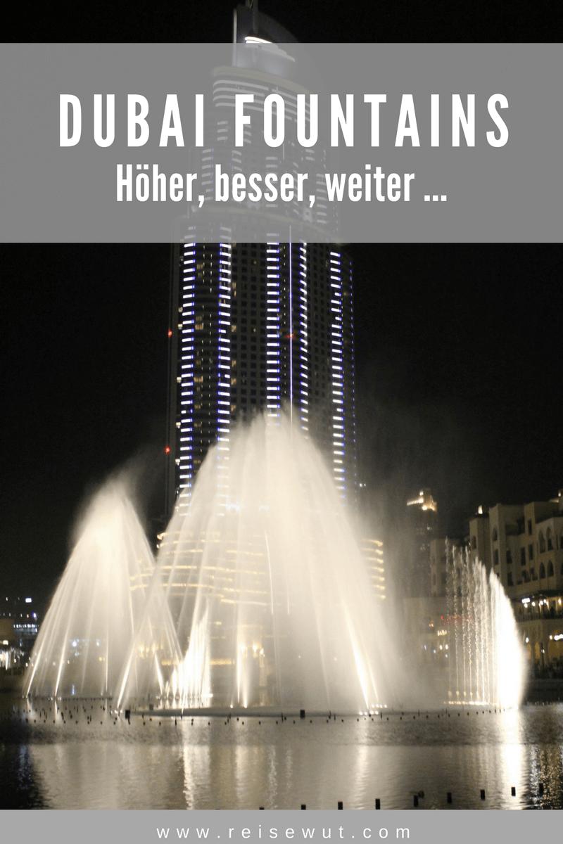 Dubai Fountains Pinterest