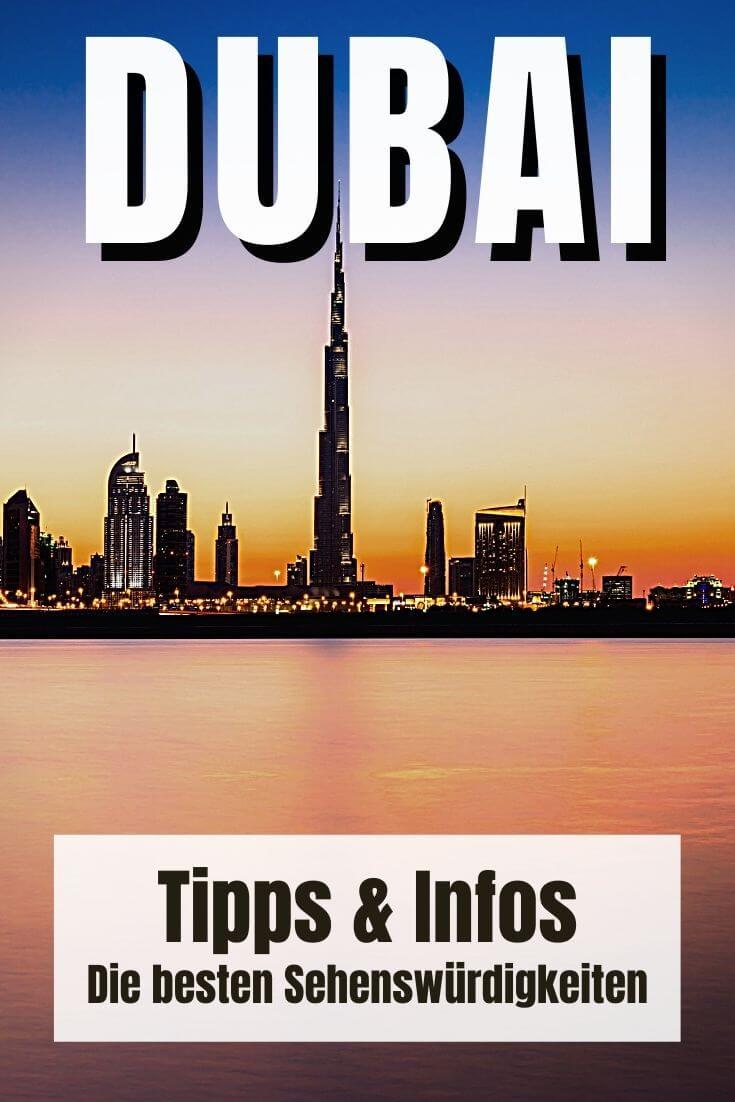 Dubai Sehenswürdigkeiten   Pinterest Pin