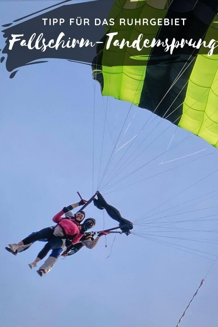 Pinterest | Fallschirm Tandemsprung im Ruhrgebiet / NRW
