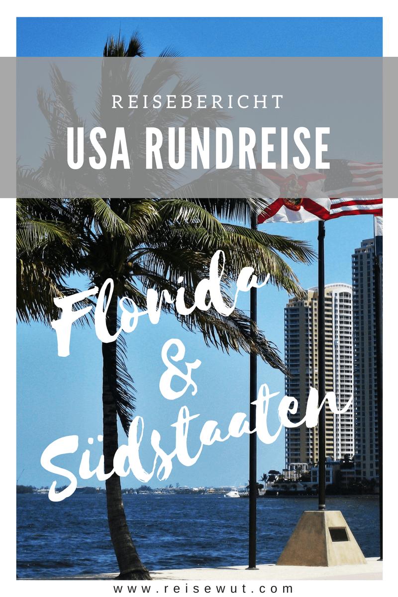 Südstaaten und Florida Rundreise - Pinterest Pin