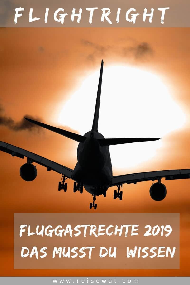 Flightright Fluggastrechte - Das musst Du wissen | Pinterest Pin