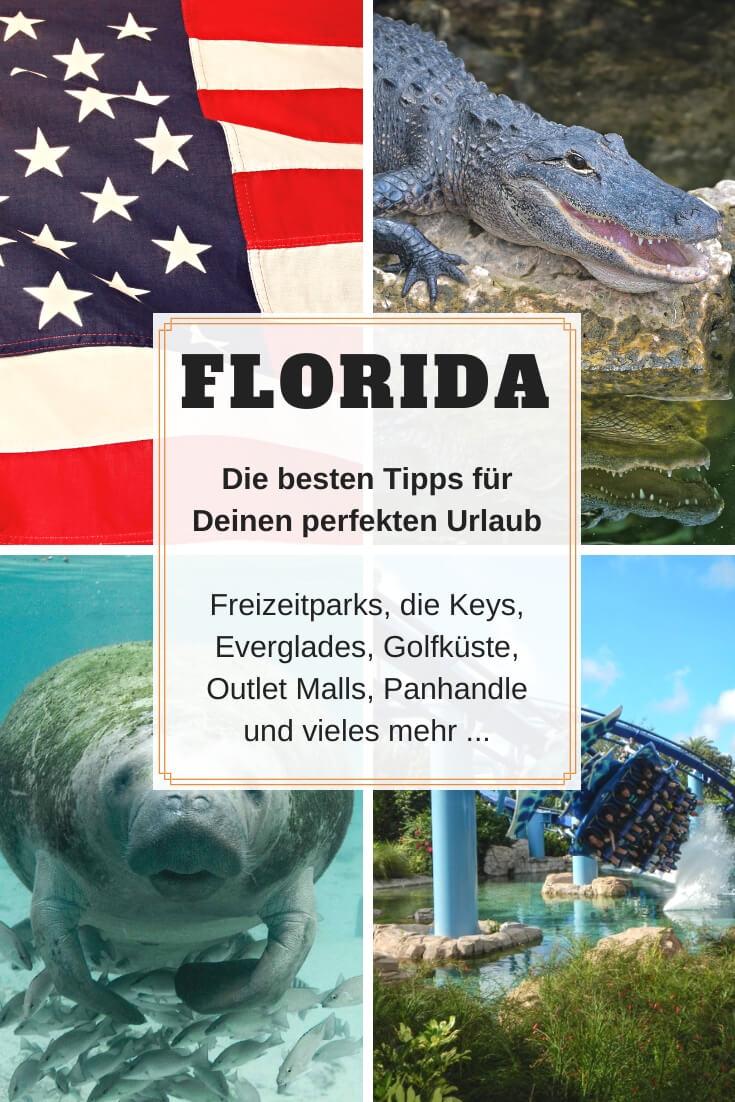 Pinterest Pin | Florida Urlaub Tipps