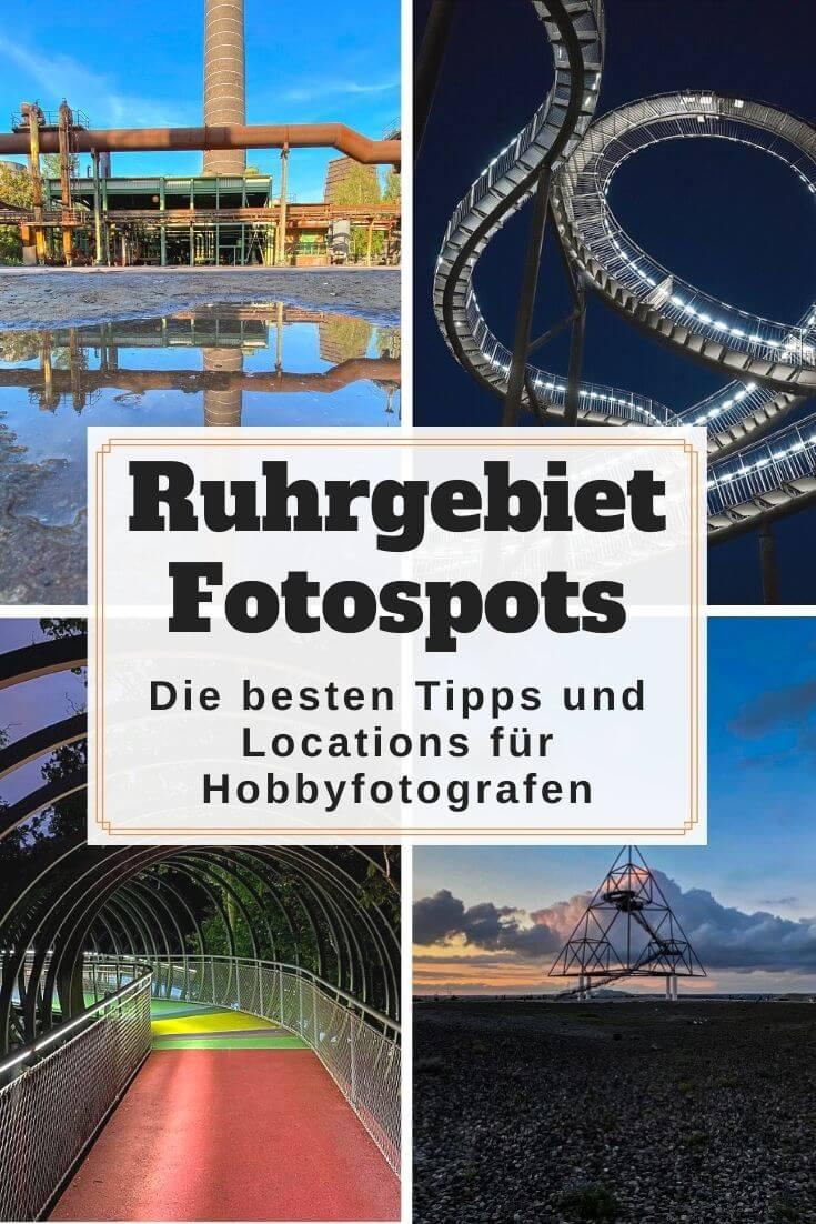 Fotospots im Ruhrgebiet - Pinterest Pin