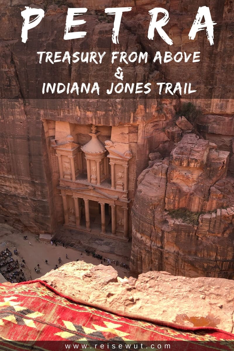 Indiana Jones Trail Petra | Pinterest Pin