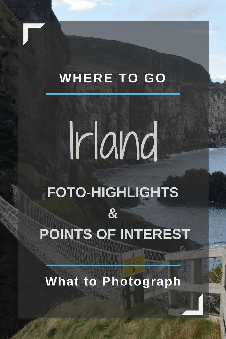 Irland Rundreise Highlights GPS Koordinaten | Pinterest