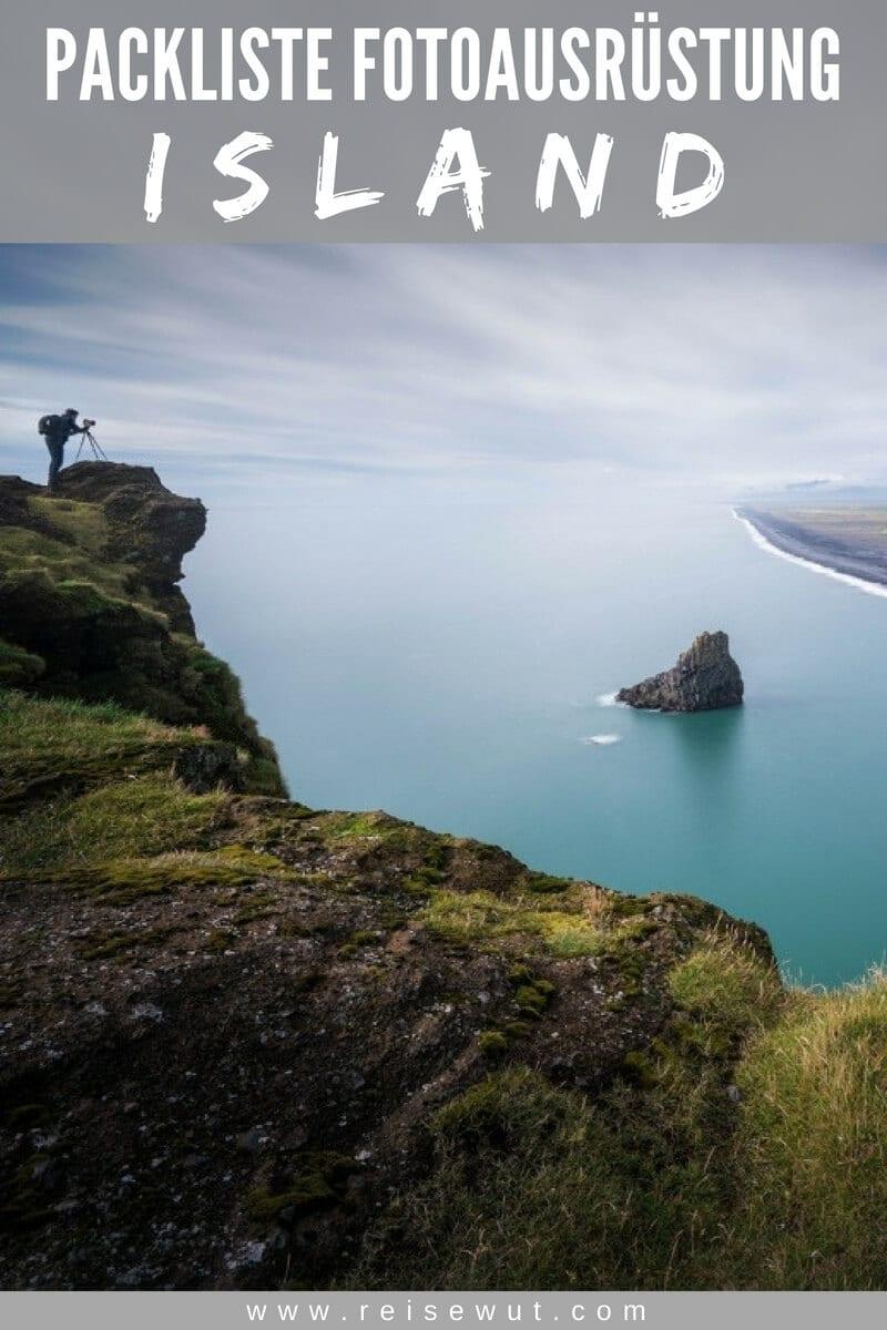 Packliste Island Fotoausrüstung - Pinterest