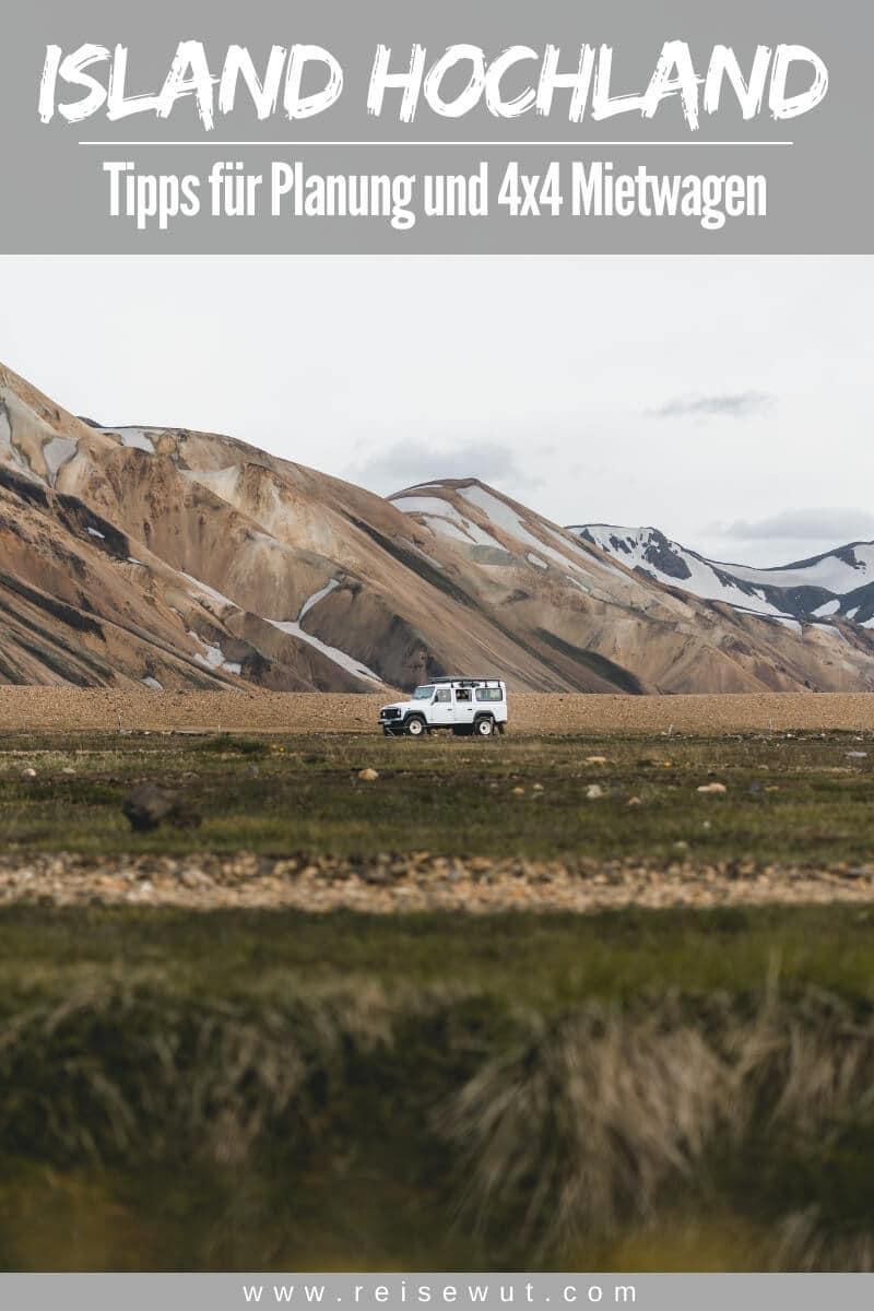 Island Hochland Tipps | Pinterest Pin