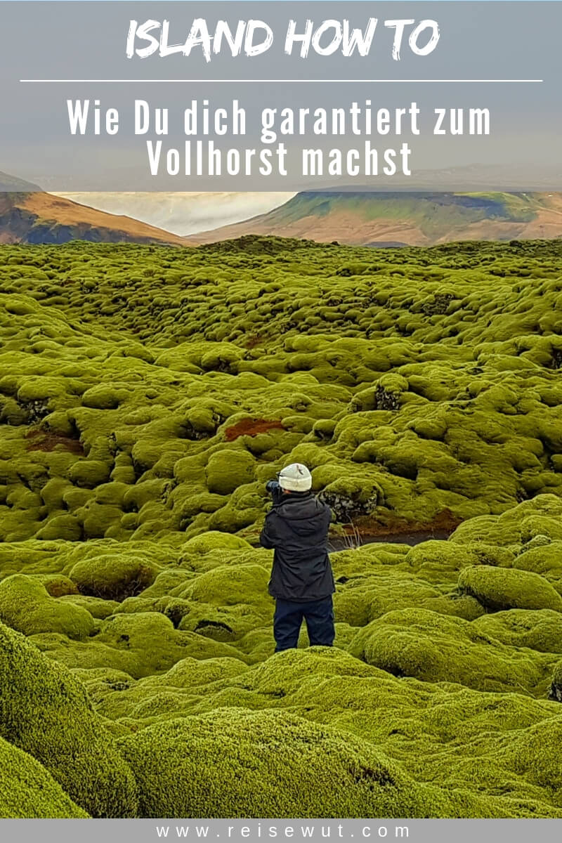 Island HowTo Fettnäpfchenführer | Pinterest Pin