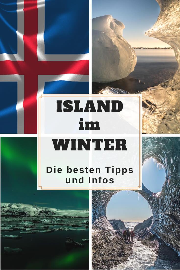 Island im Winter Tipps und Infos | Pinterest Pin