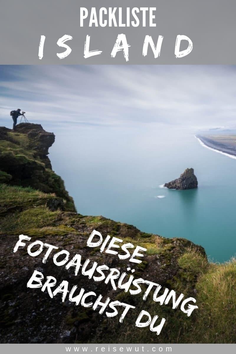 Pinterest Pin | Packliste Island Fotoausrüstung
