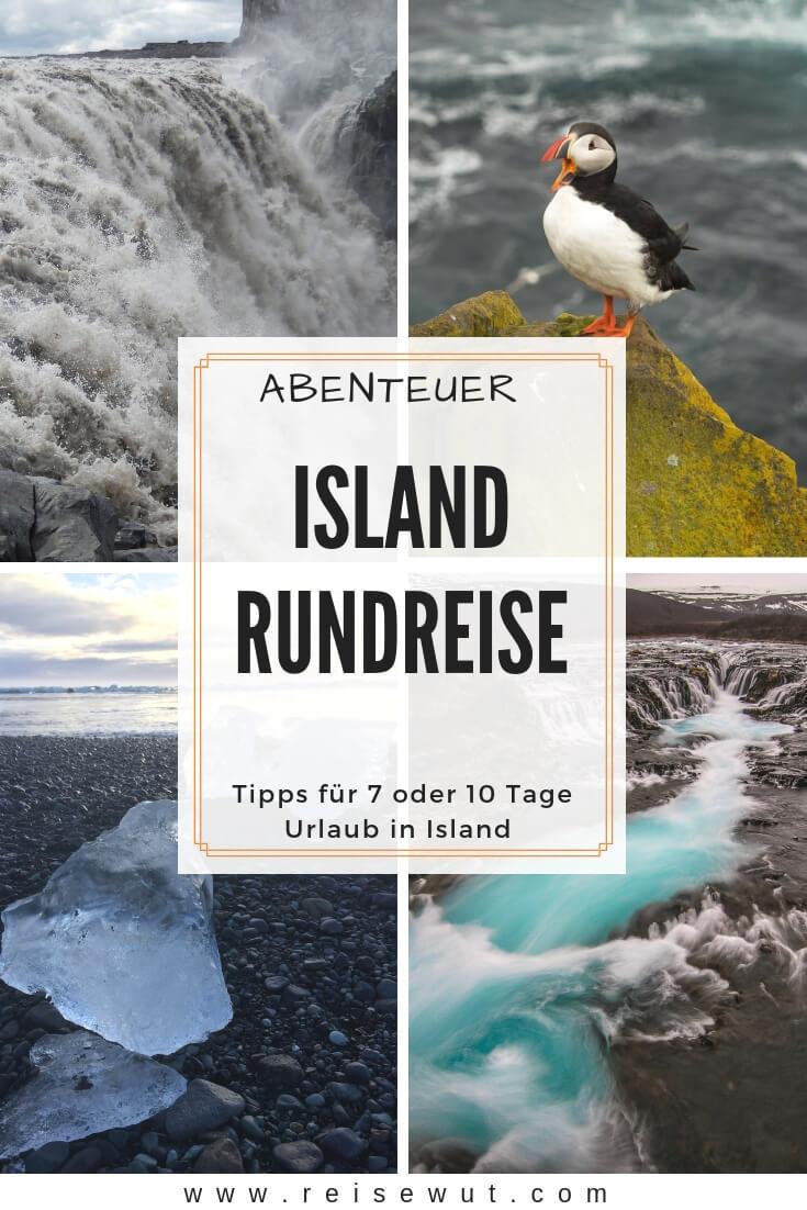 Pinterest Pin | Abenteuer Island Rundreise