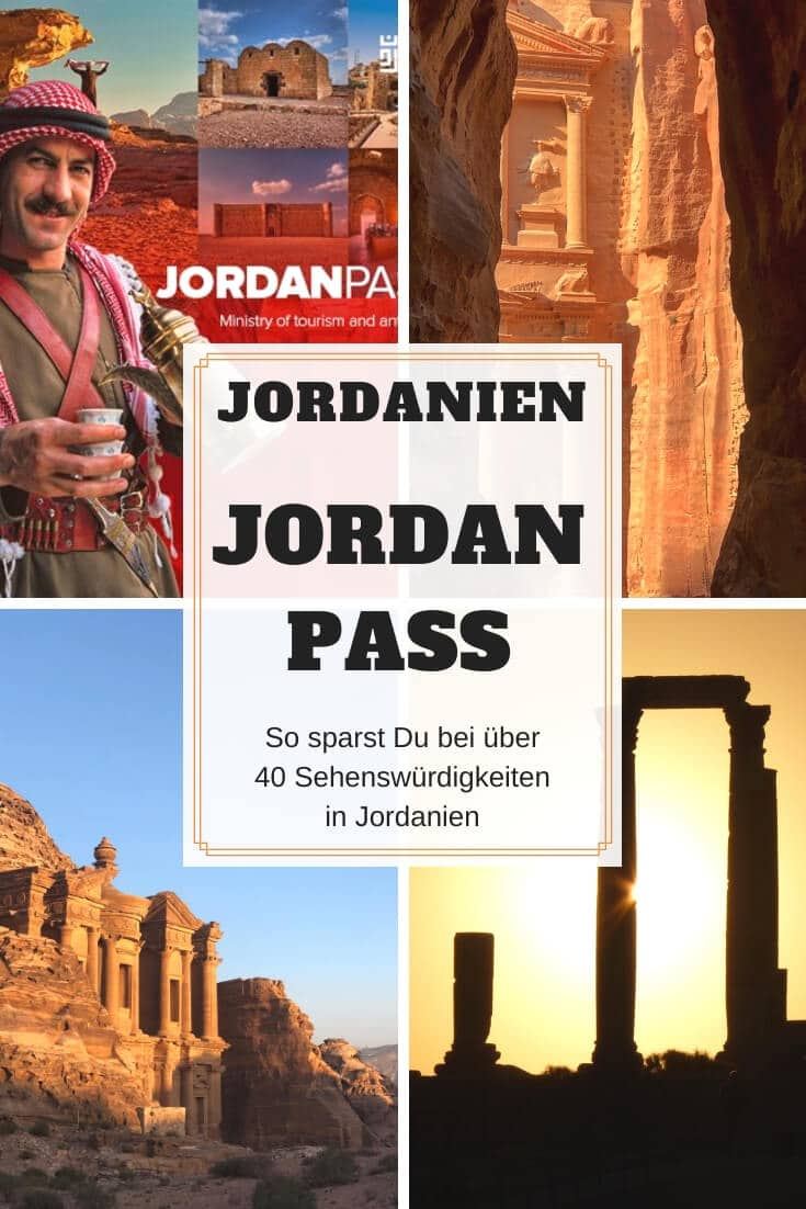 Jordan Pass Jordanien | Pinterest Pin